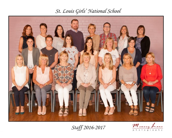 Our Staff - St  Louis Girls' National School, Park Road