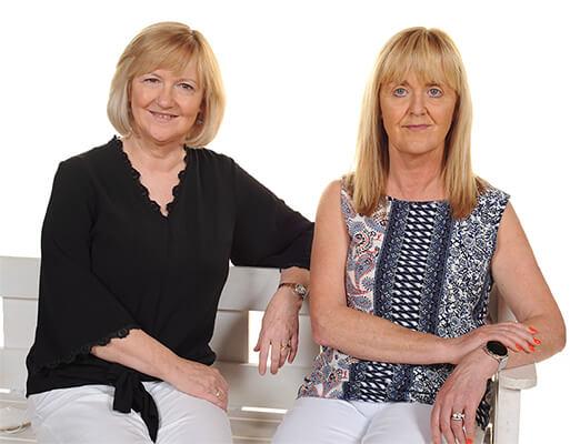 Mrs Bernie Farrell and Mrs Carmel Gallagher